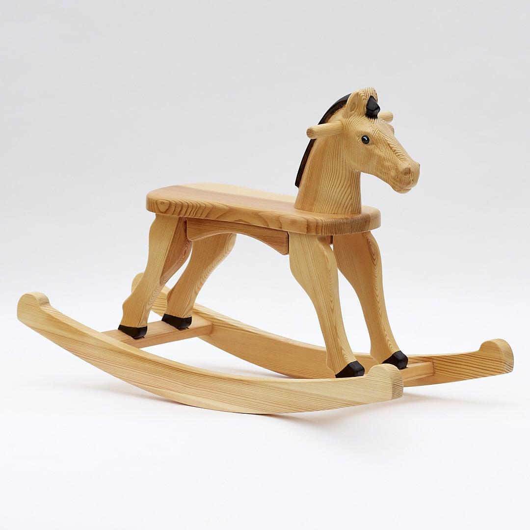 rocking horse Labebe child rocking horse, wooden rocking horse toy, orange fox rocking horse for kid 1-3 years, fox rocker/animal rocker/baby rocking horse set/kid rocking toy/kid ride animal/rocking horse toddler.