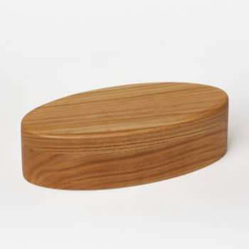 Wooden jewellery box made from Cherry