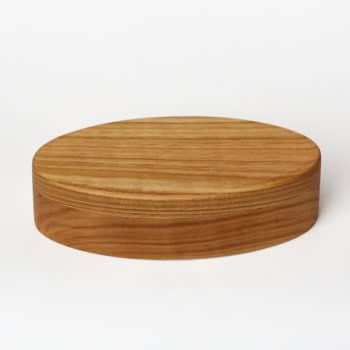 Middle sized wooden jewellery box from Cherry wood